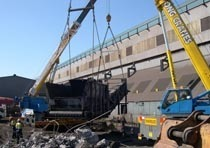 Демонтаж конструкций из металла в Тюмени