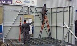 Строительство торговых павильонов в Тюмени